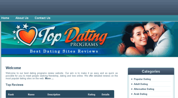 Top of dating sites