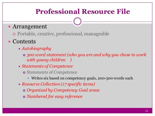 Professional Competence - Essay Example