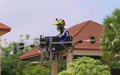 Студенты Камбоджи разработали беспилотное летательное такси