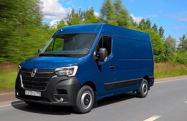 ВСети появились снимки обновленного коммерческого Renault Master