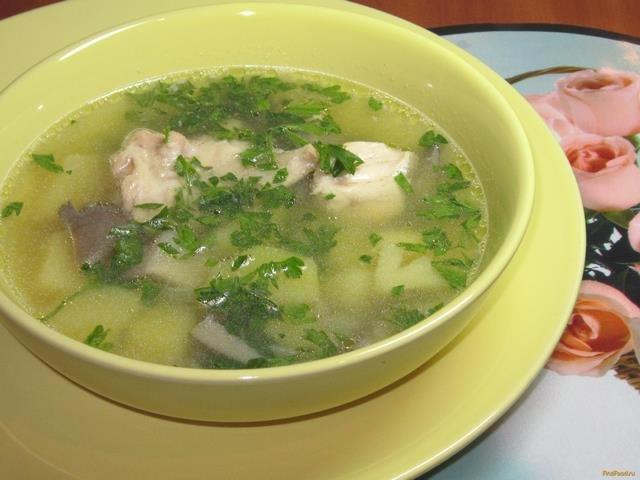 суп из свежих вешенок рецепт с фото