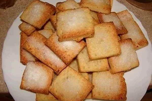 Быстрое печенье с творогом рецепт