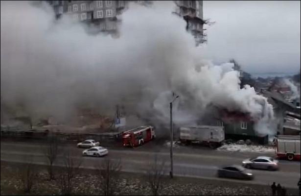 ВПетрозаводске напожаре обгорел мужчина. Новые подробности пожара наСтарой Кукковке