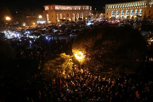 ВЕреване полиция освободила всех задержанных наоппозиционной акции