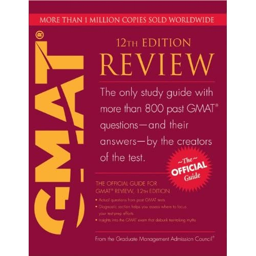 The Official Guide for the GMAT Review 2017: Should