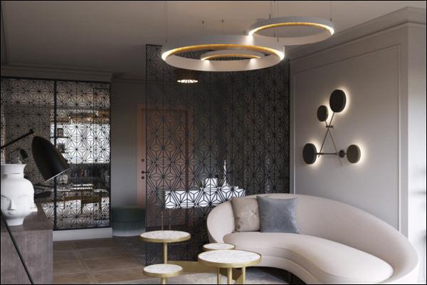 Наберегу Парижа: дизайн квартиры вофранцузском стиле