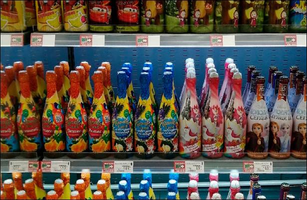 Детское шампанское предложили запретить вРоссии