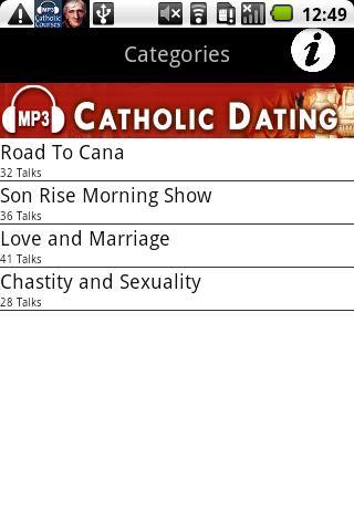 Dating advice catholic