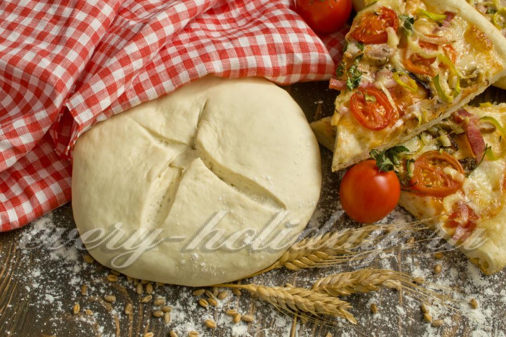 Рецепт теста для пиццы с дрожжами быстрый