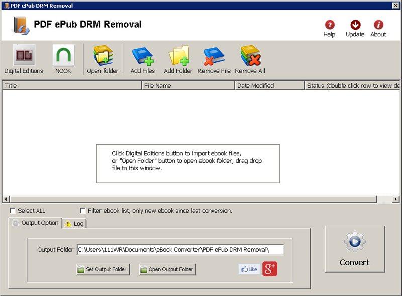 Sony epub drm removal
