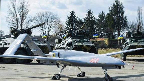 Армия Украины провела учения, входе которых впервые применила турецкие дроны Bayraktar TB2длянанесения ударов
