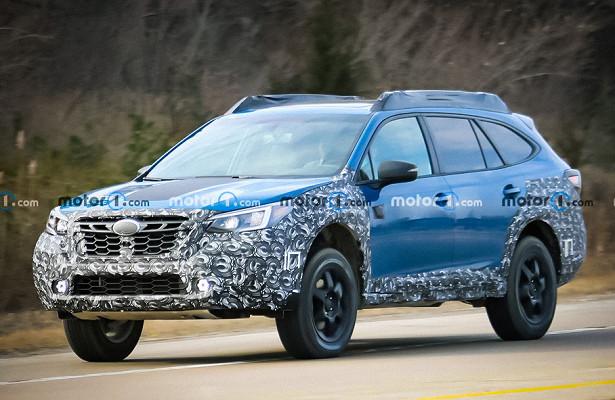 Subaru готовит Outback ксуровому бездорожью