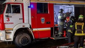 Автобус загорелся навостоке Москвы
