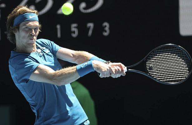 Андрей Рублев вышел вовторой круг Australian Open