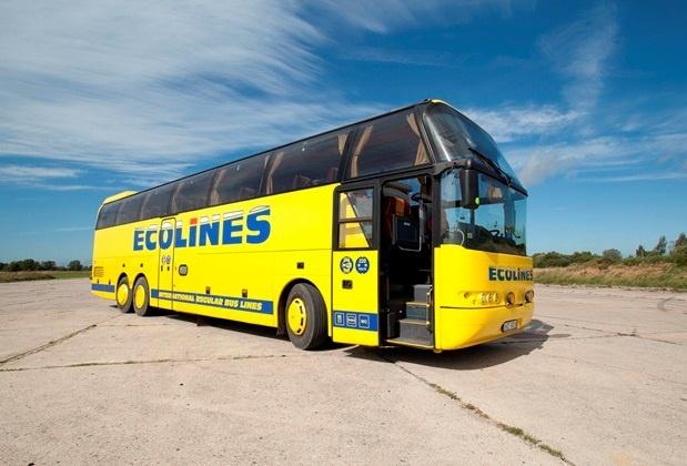 Автобусы Ecolines.