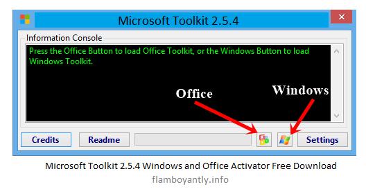 Istruzioni microsoft toolkit
