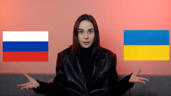 Украинку затравили зажелание посетить Россию