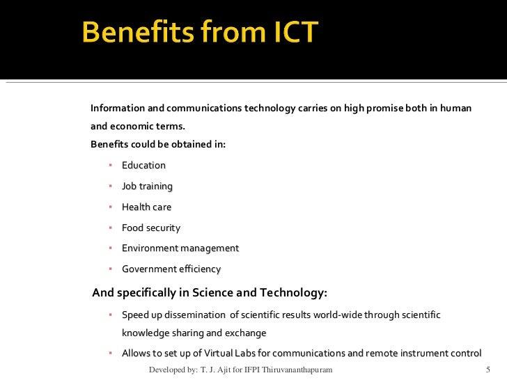 Write my technology benefits essay