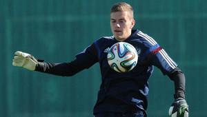 Российский вратарь поведал осбывшейся мечте