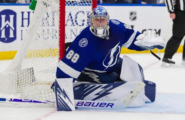 Василевский признан лучшим голкипером НХЛ