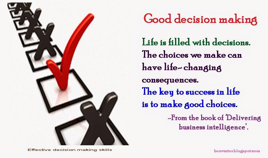 Decision essays