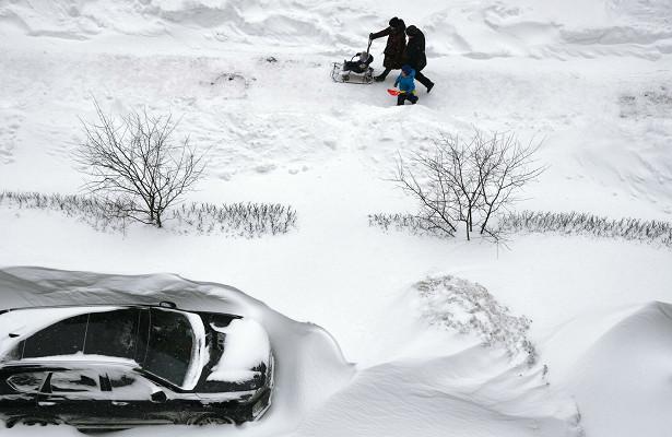 Мощный снегопад придет вРостовскую область