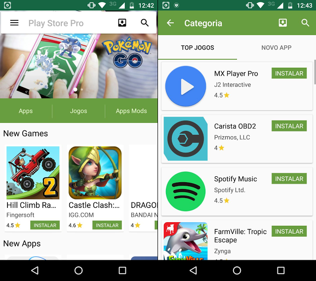 Download PlayStore APK for Android