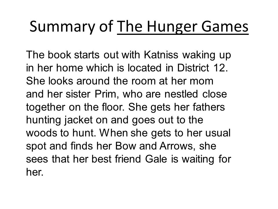 Write my 5 paragraph essay on the hunger games