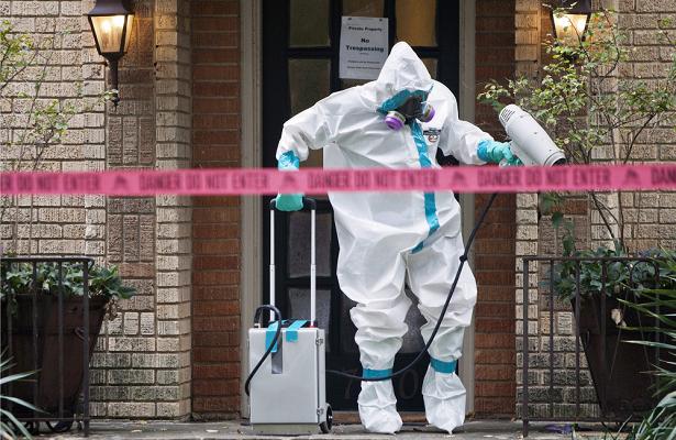 ВОЗназвала высоким риск распространения Эболы вГвинее
