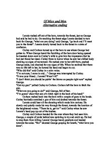 theme essay of mice and men an of mice and men fanfic fanfiction of mice and men friendship theme essay