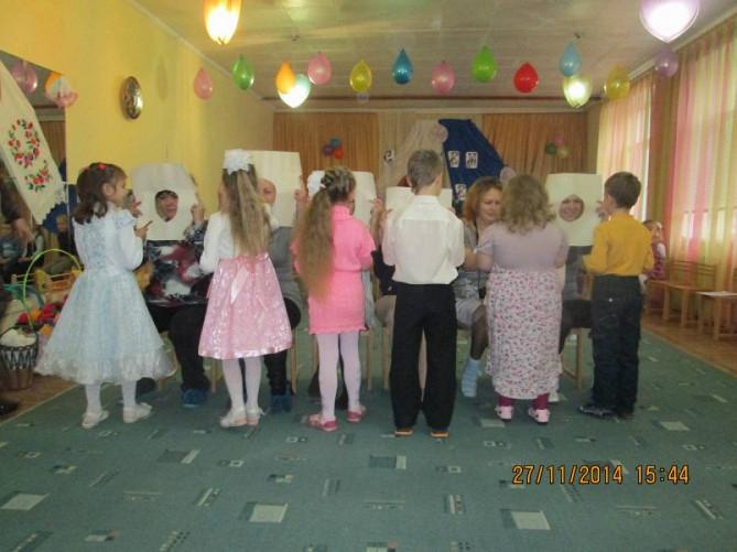картинки для детского сада - дымковская роспись