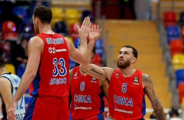 ЦСКА победил «Валенсию» вбаскетбольной Евролиге