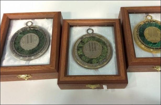 Медали ЧМпокиокусинкай каратэ презентовали вЕкатеринбурге