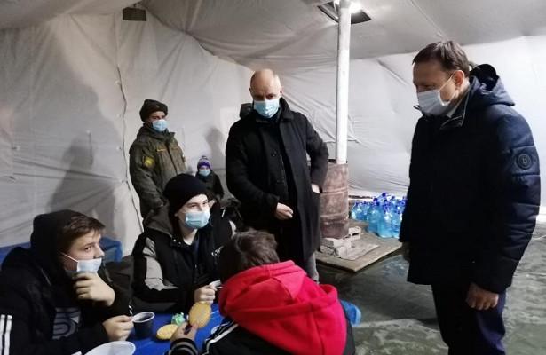 «Единая Россия» помогает пострадавшим откоммунальной катастрофы