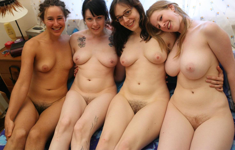 Group naked amateur girls