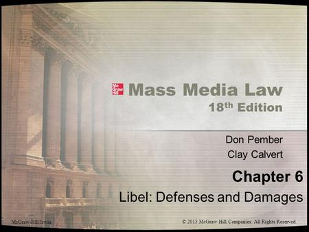 Media law essays