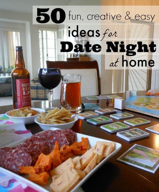 Cute date night ideas pinterest
