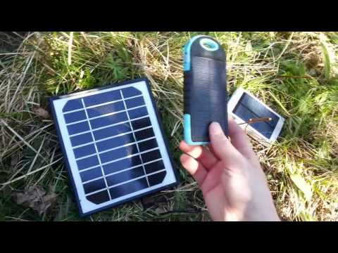 Power bank солнечная батарея алиэкспресс