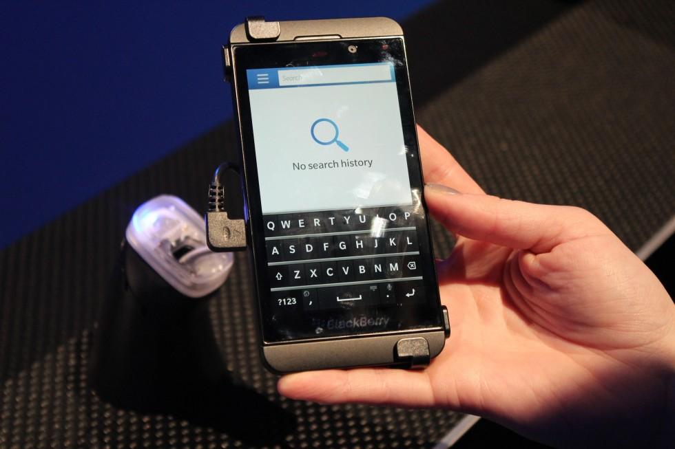 Gebruiksaanwijzing blackberry z10