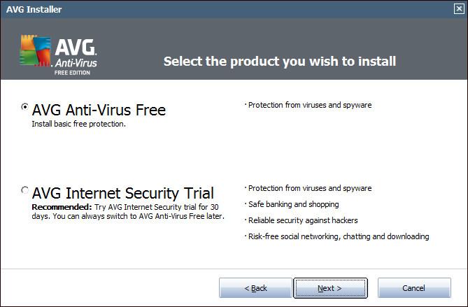 Download AVG Antivirus Free for Windows 8, Windows