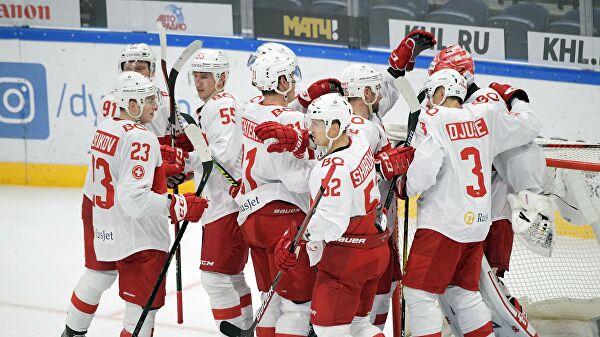«Спартак» прервал серию изтрех поражений вКХЛ, обыграв «Куньлунь»