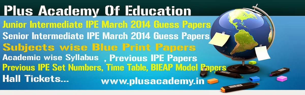 Senior intermediate previous papers