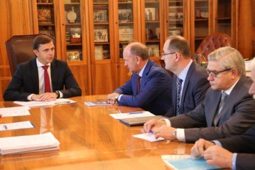 Клычков обсудил спредставителя Газпрома социальные проекты