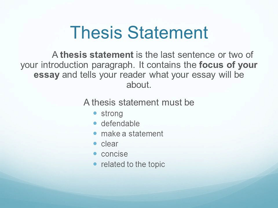 The Odyssey Thesis Statements and Essay Topics