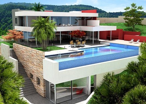 Дом в остров Рафина на побережье