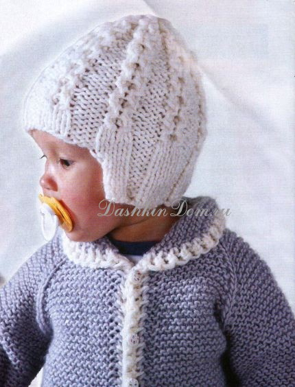 как связать модную одежду для детей пошагово фото