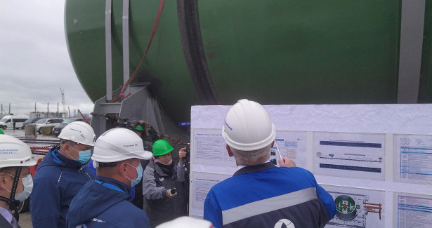 Строители Курской АЭС-2работают сопережением