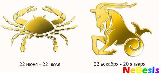 Мужчи  рак женщи  козерог гороскоп