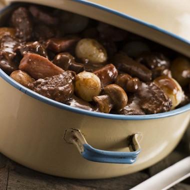 Рецепт Говядина по‑бургундски (Boeuf bourguignon)