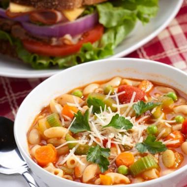 Рецепт Быстрый овощной суп